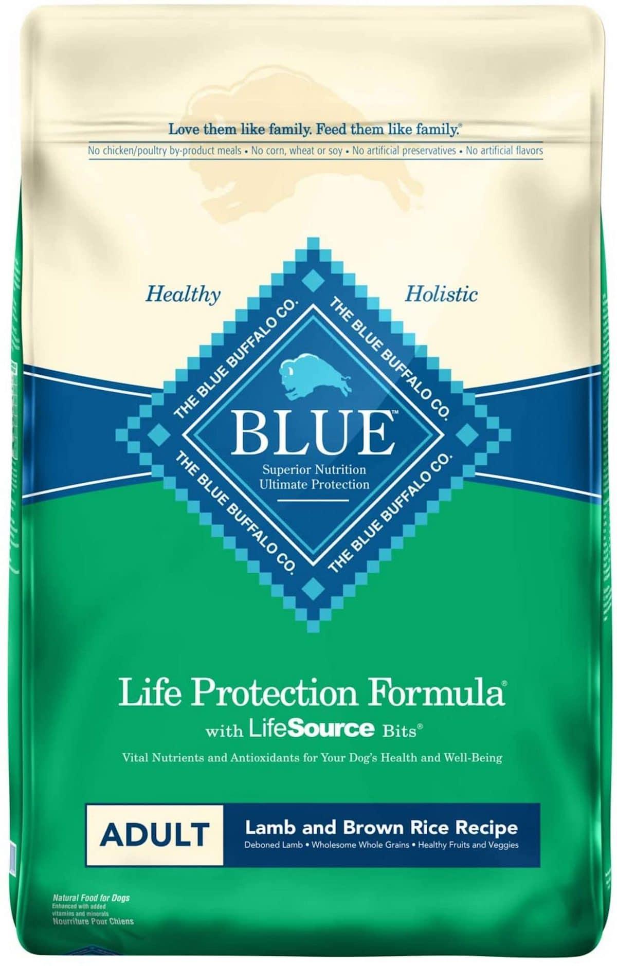 Blue Buffalo Life Protection Formula Lamb & Brown Rice Recipe