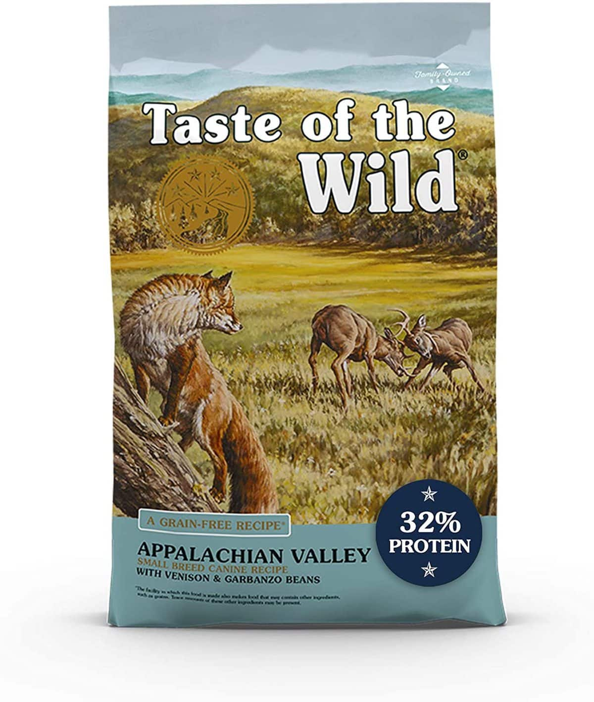 Taste of the Wild, Appalachian Valley Small Breed Formula