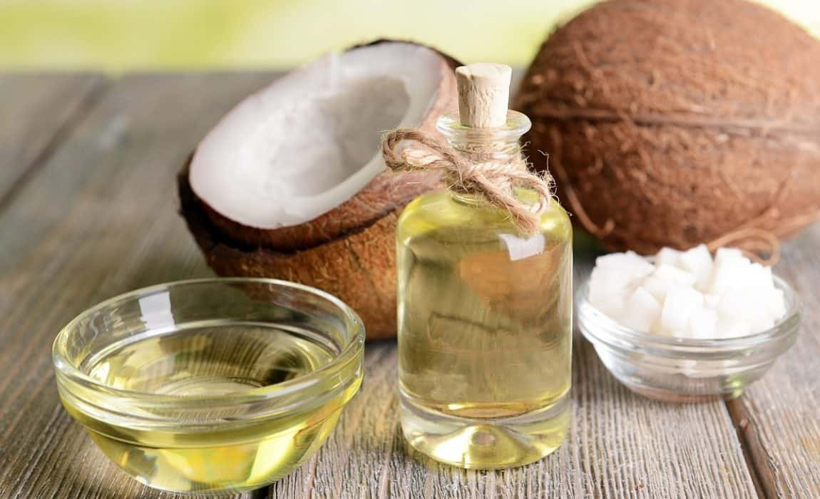 Coconut oil for hot spots