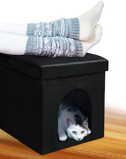 Soft-Sided Dog Crate Ottoman