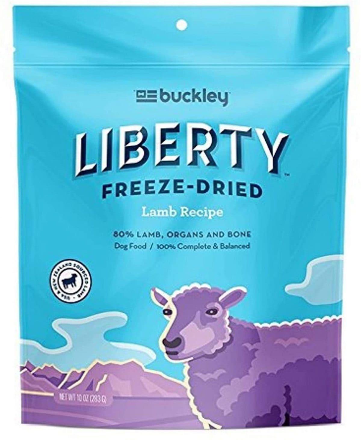 Buckley Liberty Freeze-Dried Dog Food