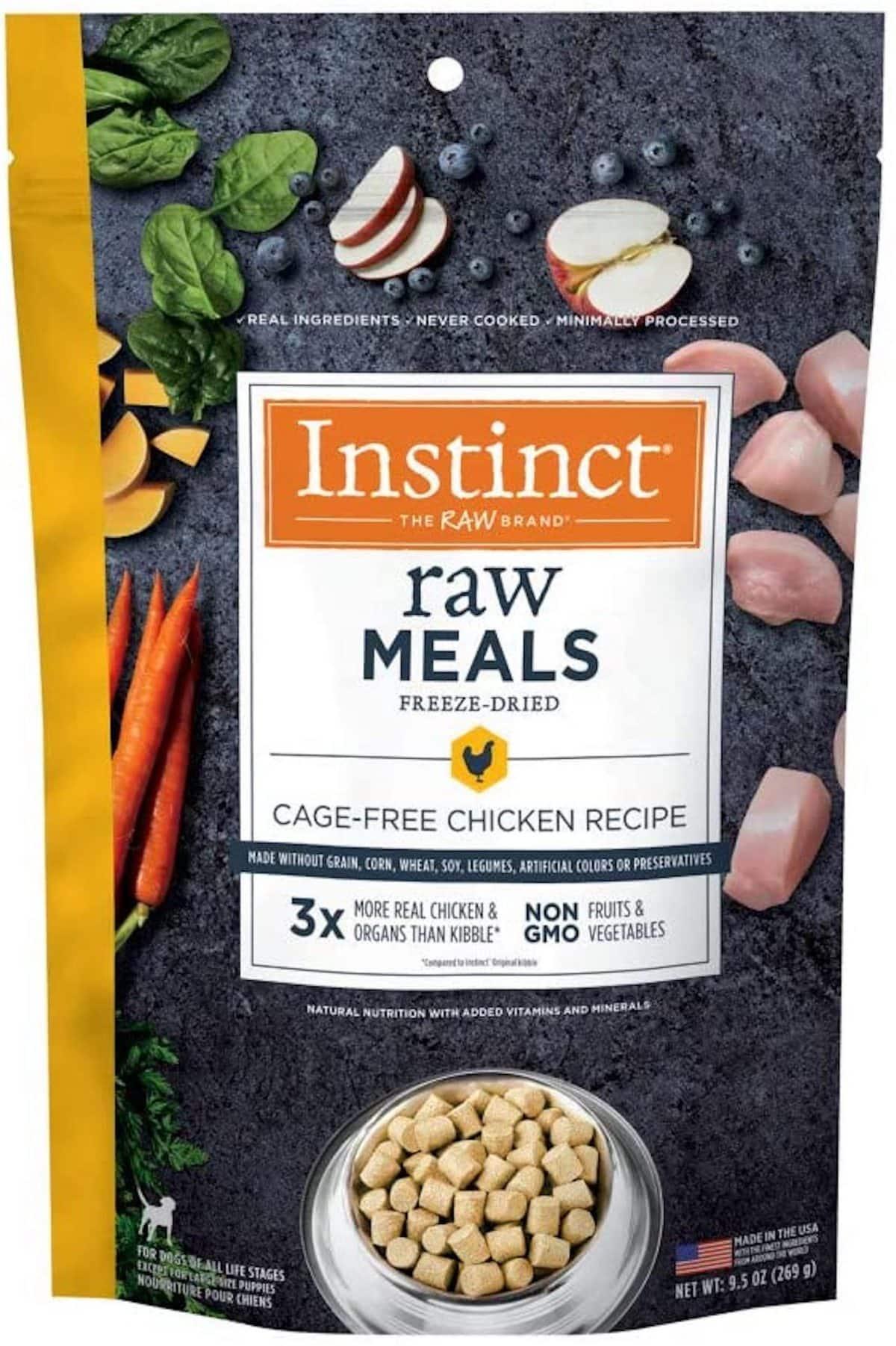 Instinct Freeze-Dried Raw Meals