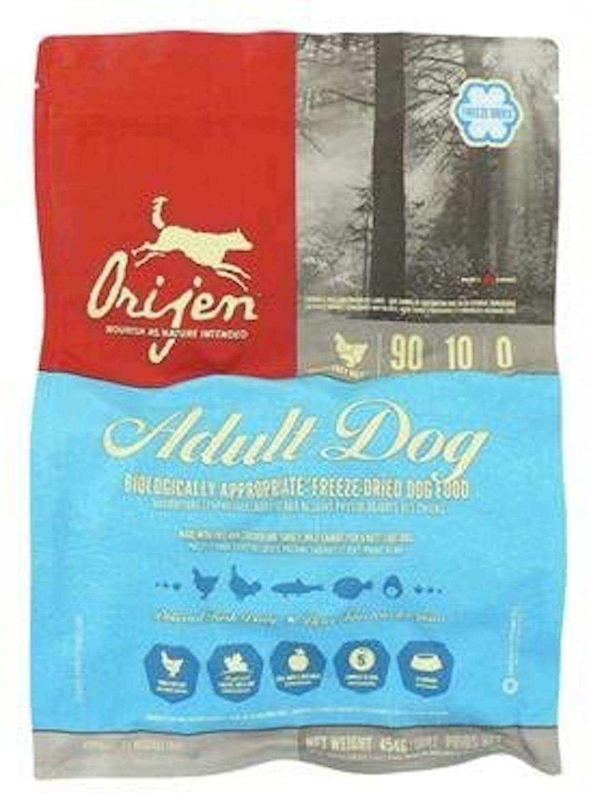 Orijen Freeze-Dried Adult Dog Food