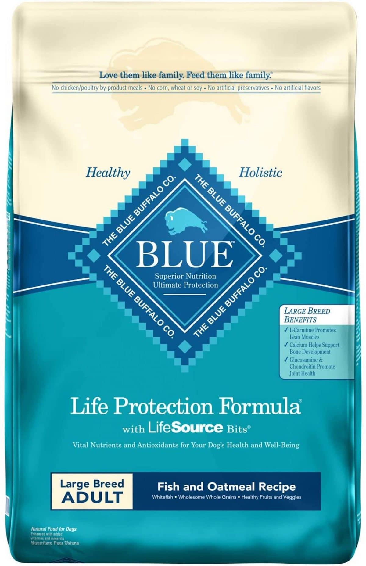 Blue Buffalo BLUE Life Protection Fish and Oatmeal Recipe