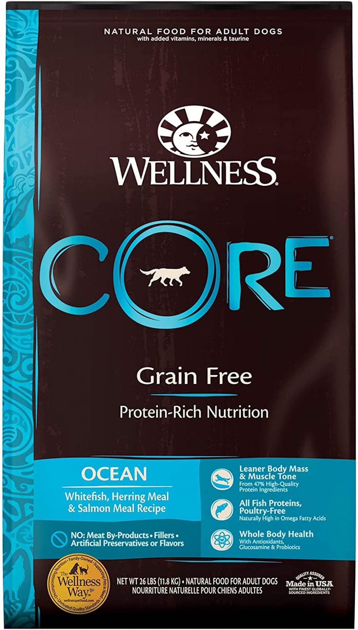 Wellness Core Grain-Free Ocean Formula
