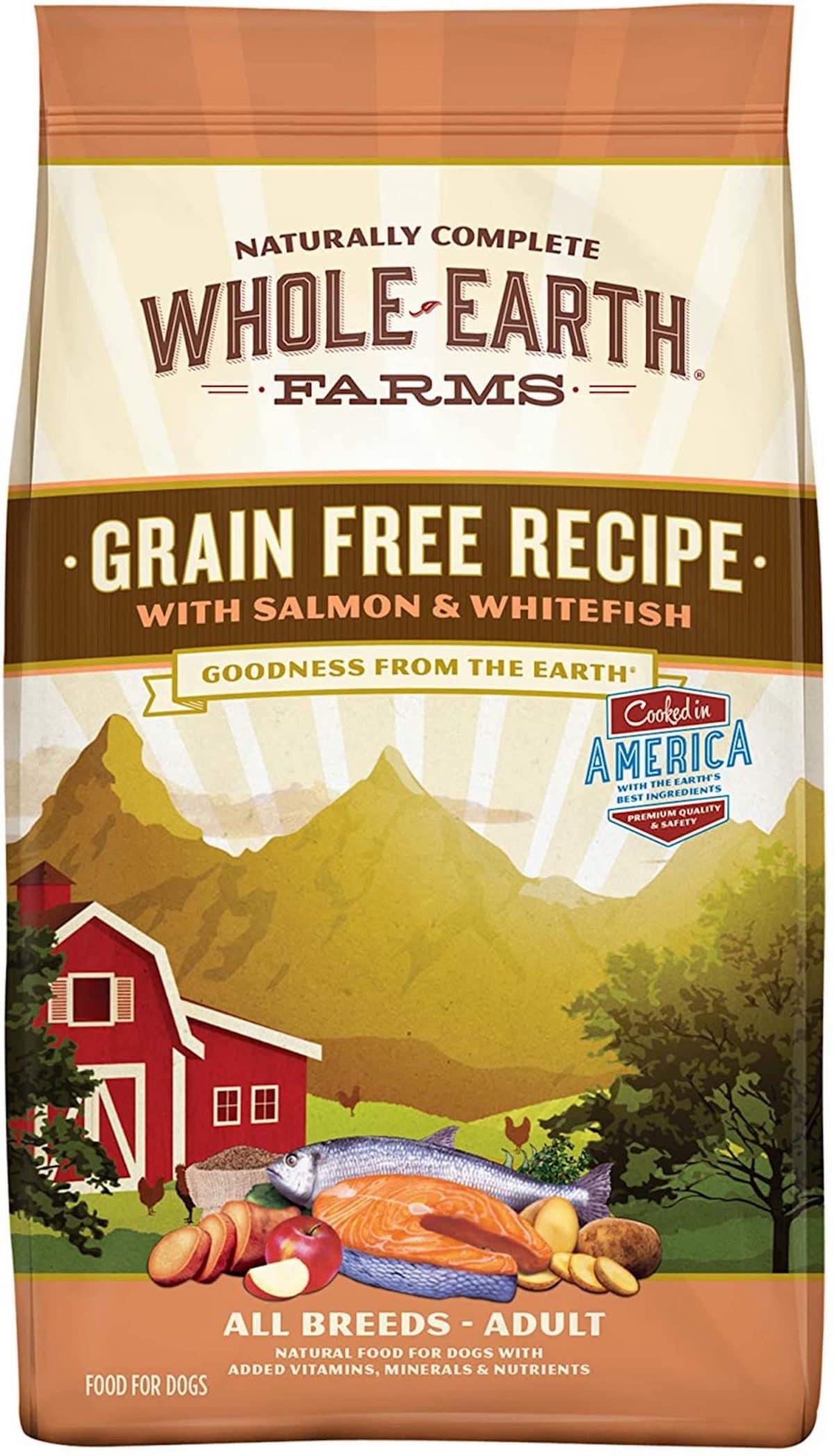 Whole Earth Farms Grain Free Recipe Dog Food
