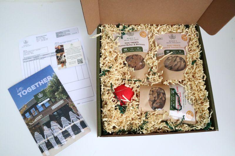Women's Bean Project Opened Box