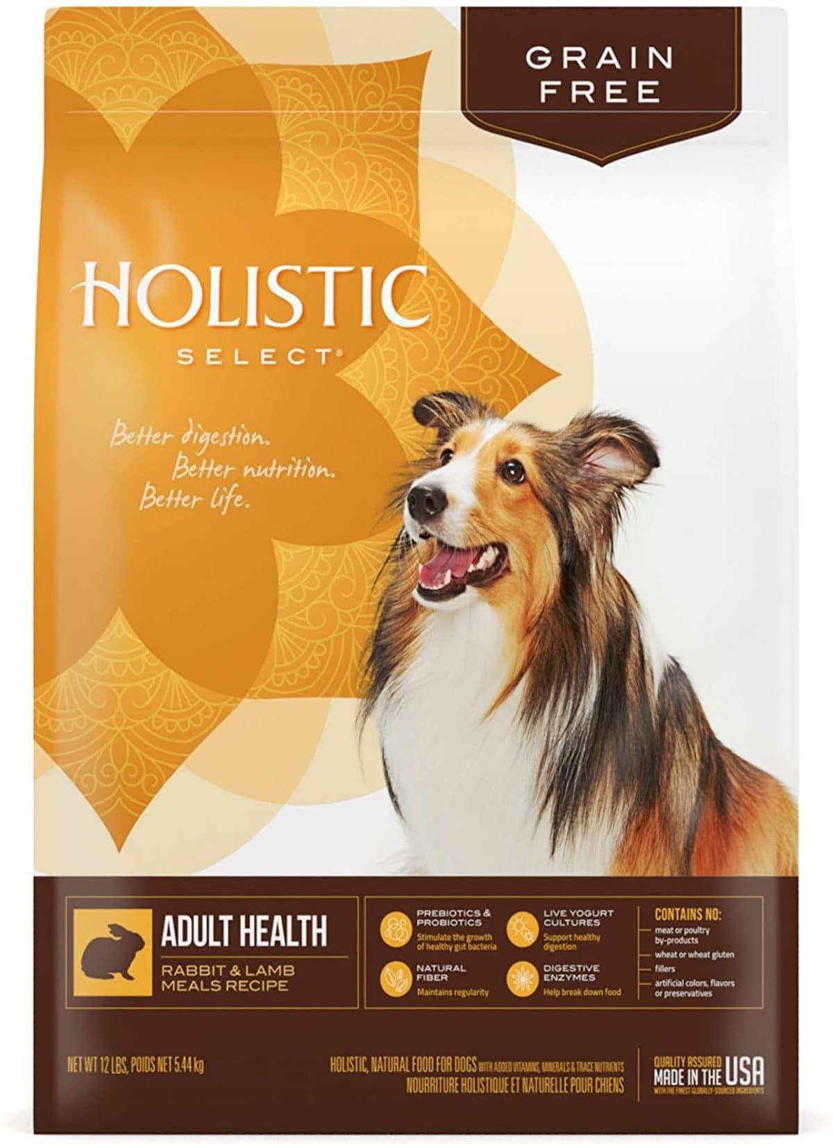 Holistic Select Natural Rabbit & Lamb Meals Recipe