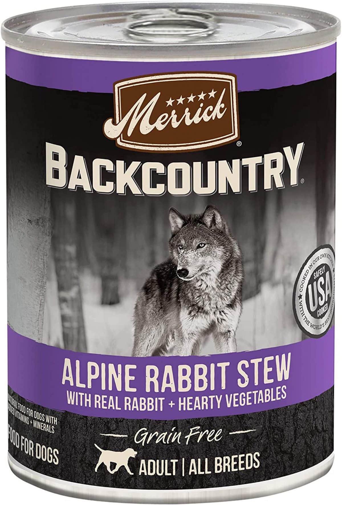 Merrick Backcountry Rabbit Stew