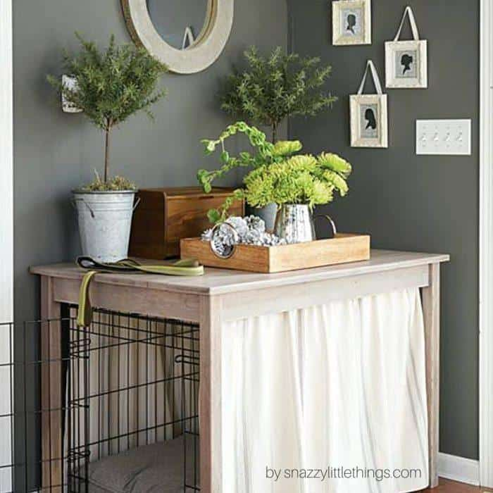 Dog crate DIY 12