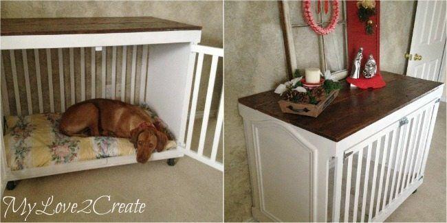 Dog crate DIY 17