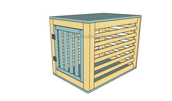 Dog crate DIY 5