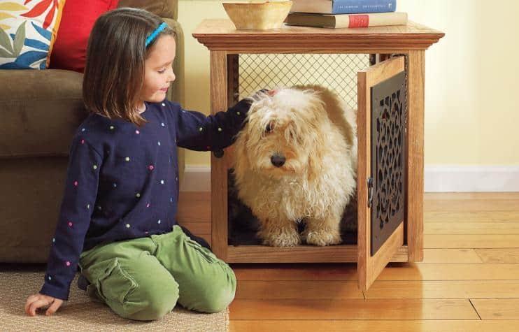 Dog crate DIY 7