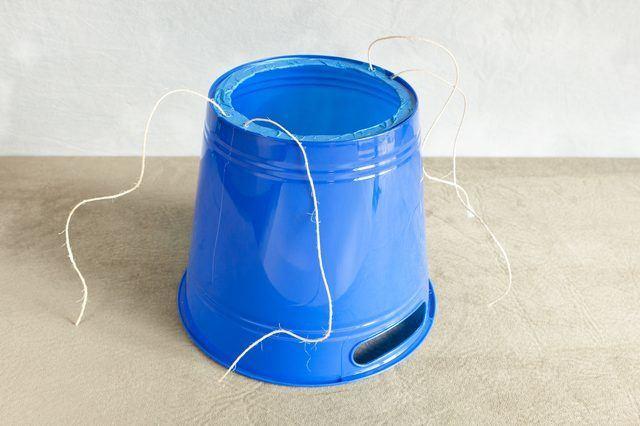 DIY E cone bucket