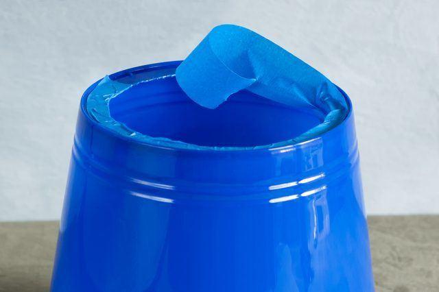 DIY bucket dog cone