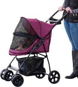 Pet Gear No-Zip Happy Trails Lite Pet Stroller