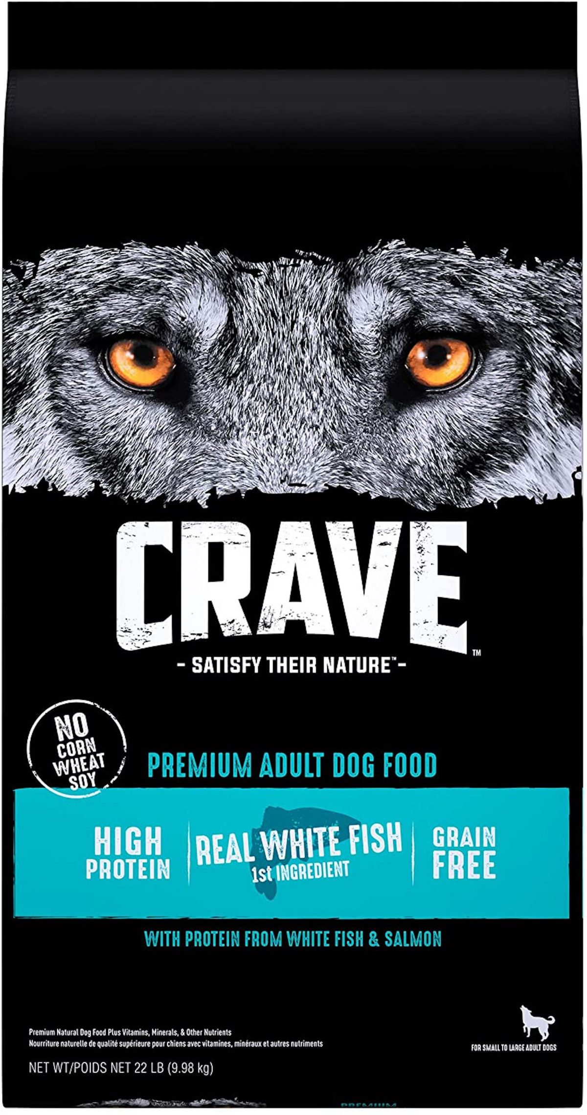 CRAVE Grain-Free High-Protein Salmon & Oceanfish