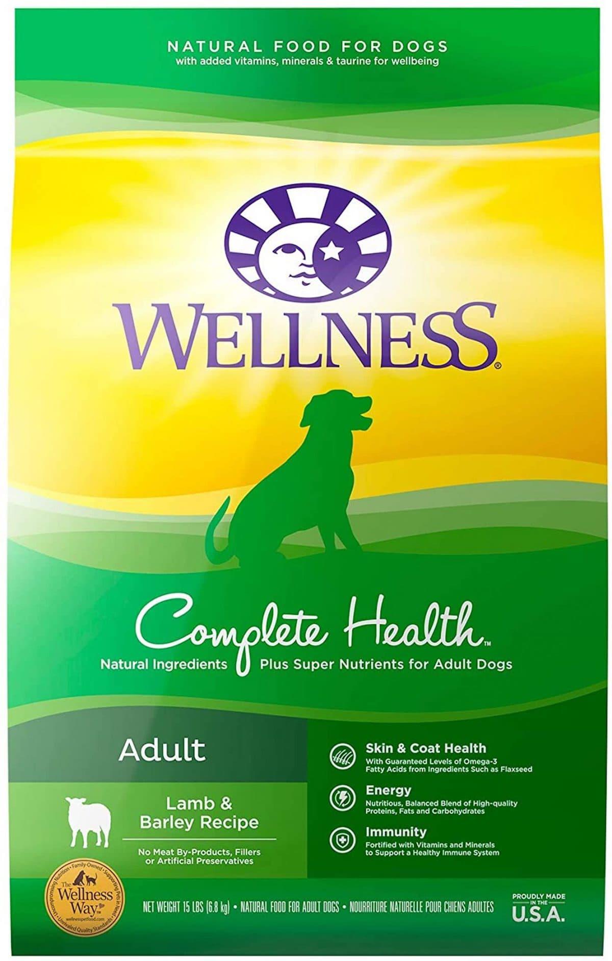 Wellness Complete Health Adult Lamb & Barley Kibble