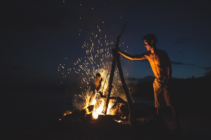 camping-fire