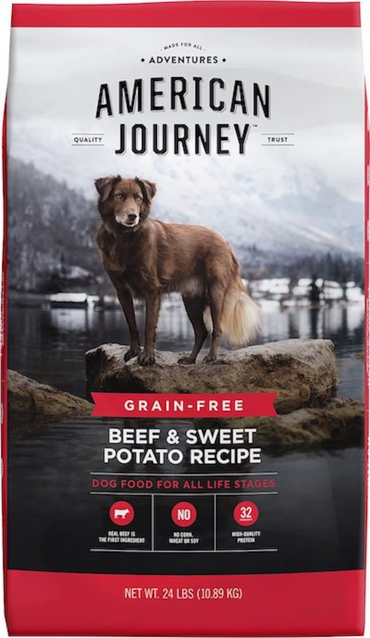 American Journey Beef & Sweet Potato
