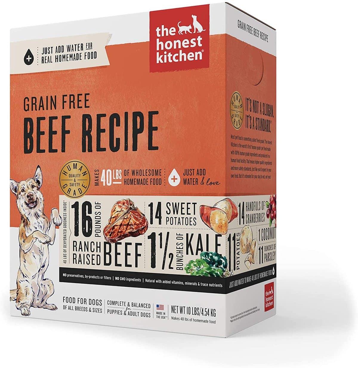 Honest Kitchen Ranch-Raised Beef