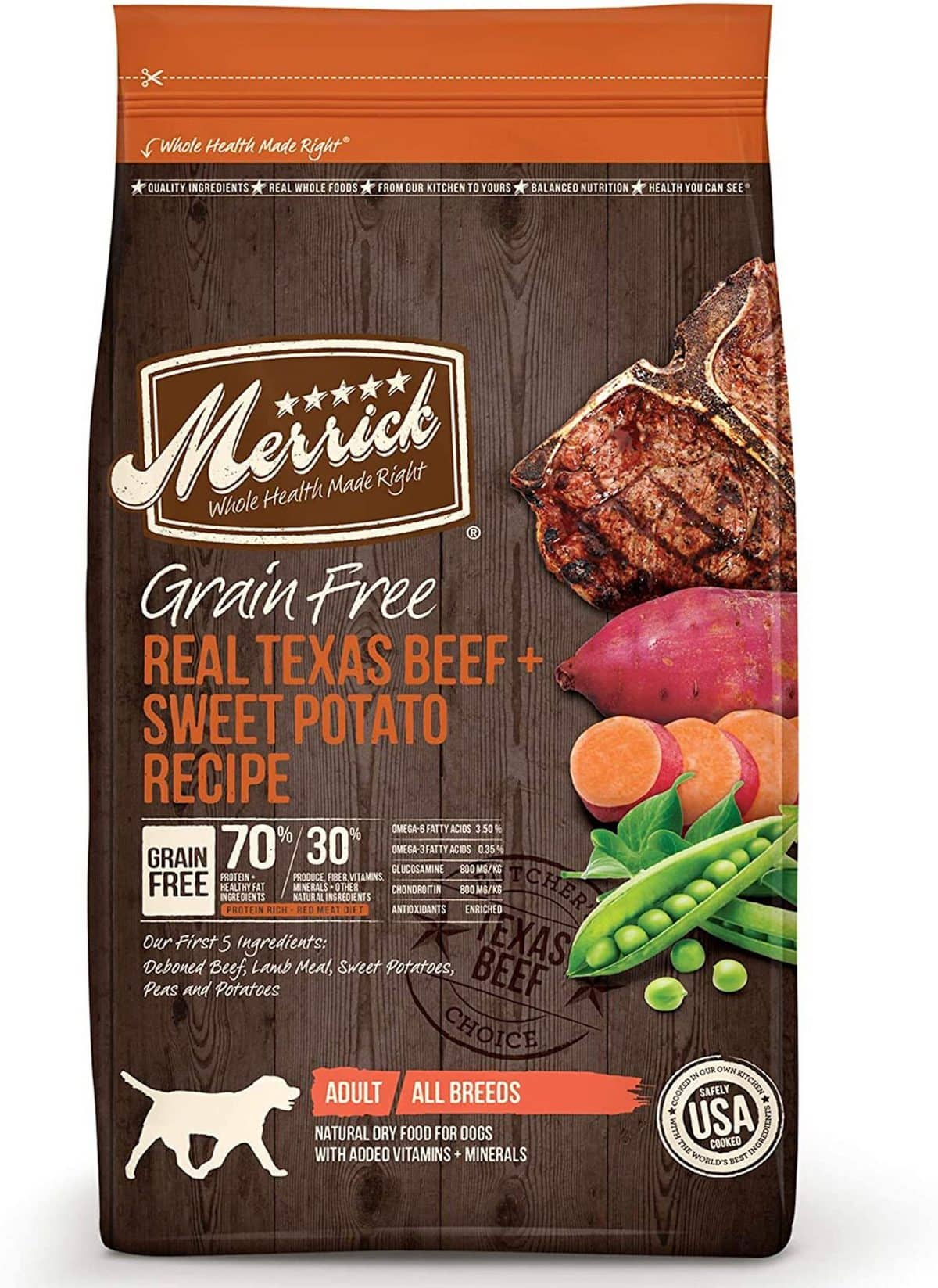Merrick Texas Beef & Sweet Potato