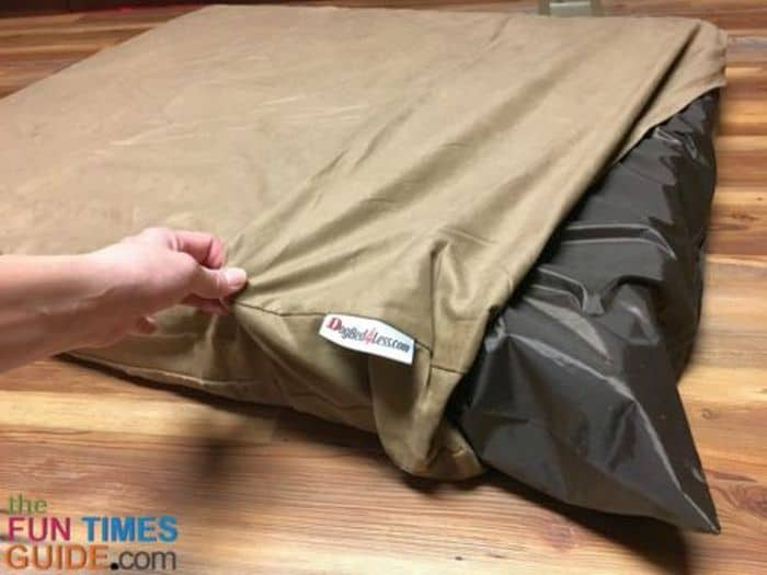 Do It Yourself Memory Foam Dog Bed