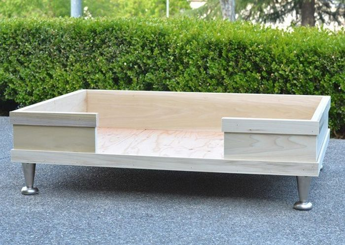 Dog Bed Modern DIY