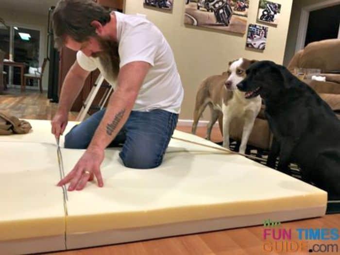 Memory Foam DIY Dog Bed