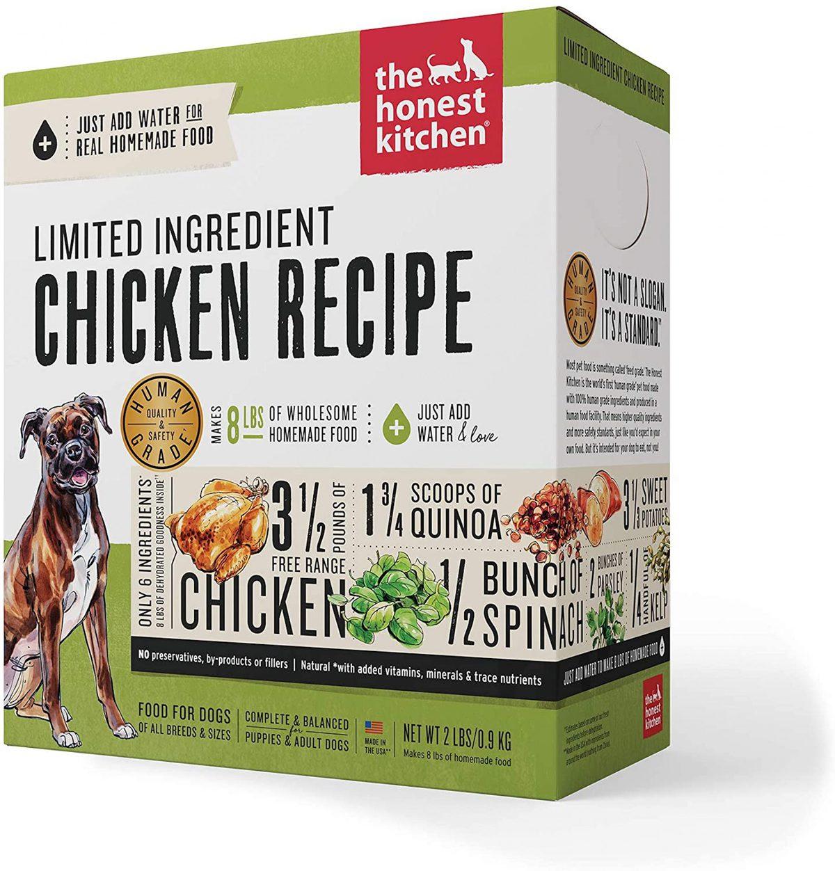 Honest Kitchen Limited Ingredient Chicken