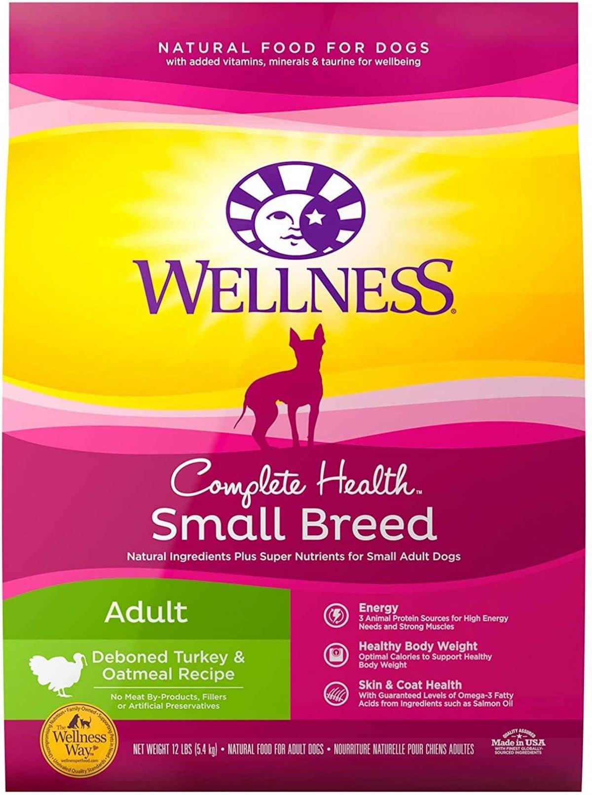 Wellness Complete Health Small Breed Turkey & Oatmeal