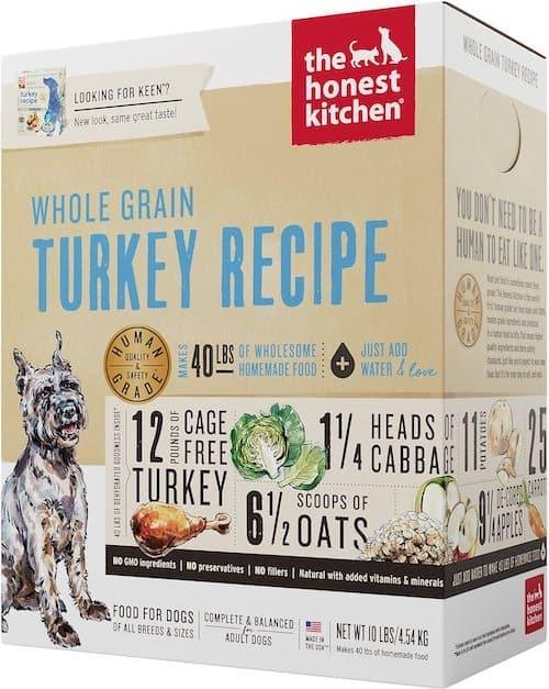 honest kitchen dog food