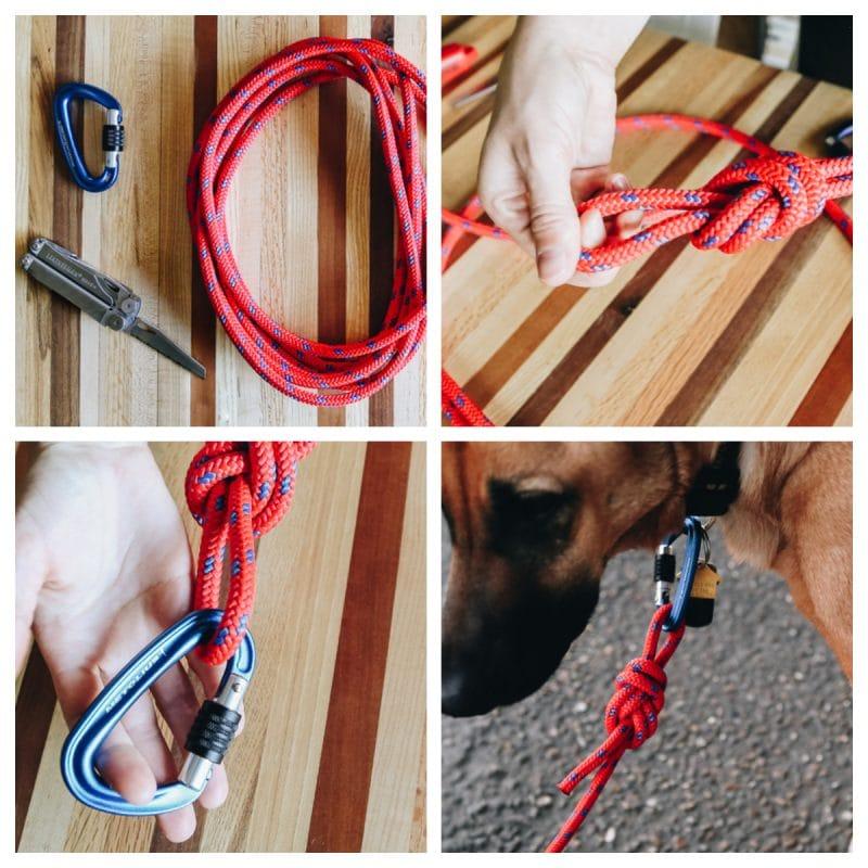 DIY Climbing Rope Leash