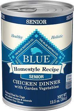 Blue Buffalo Homestyle Recipe: Best Wet Dog Food for Seniors