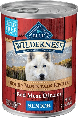 Blue Wilderness Rocky Mountain Recipe: Best Wet Dog Food for Seniors