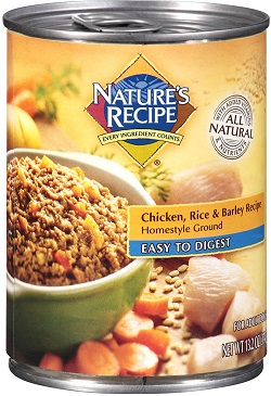 Nature's Recipe Easy to Digest Wet Dog Food