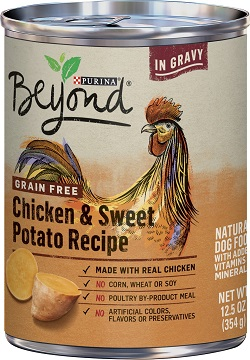 Purina Beyond Chicken and Sweet Potato Recipe