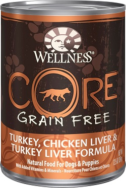 Wellness CORE Natural Grain Free Wet Canned