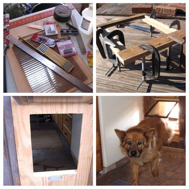 make your own dog door