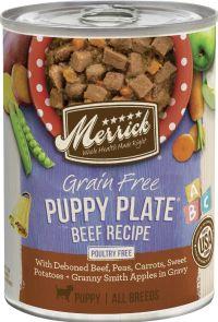 Merrick Canned food