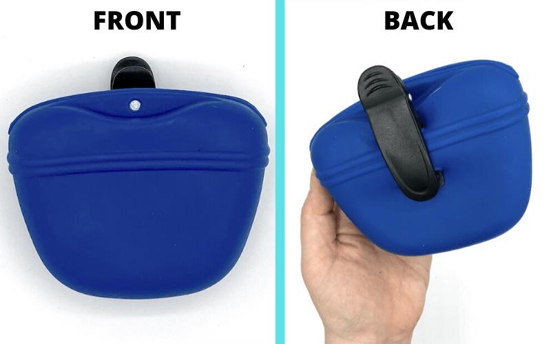 silicone treat pouch design