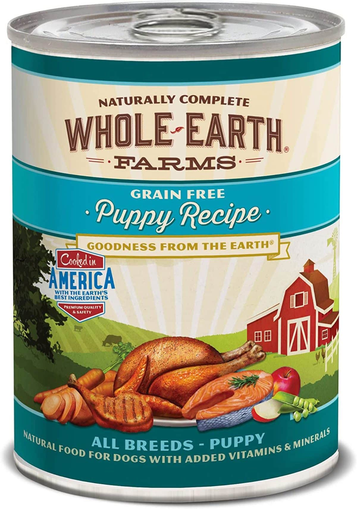 Merrick Whole Earth Farms Grain-Free Wet Puppy Food