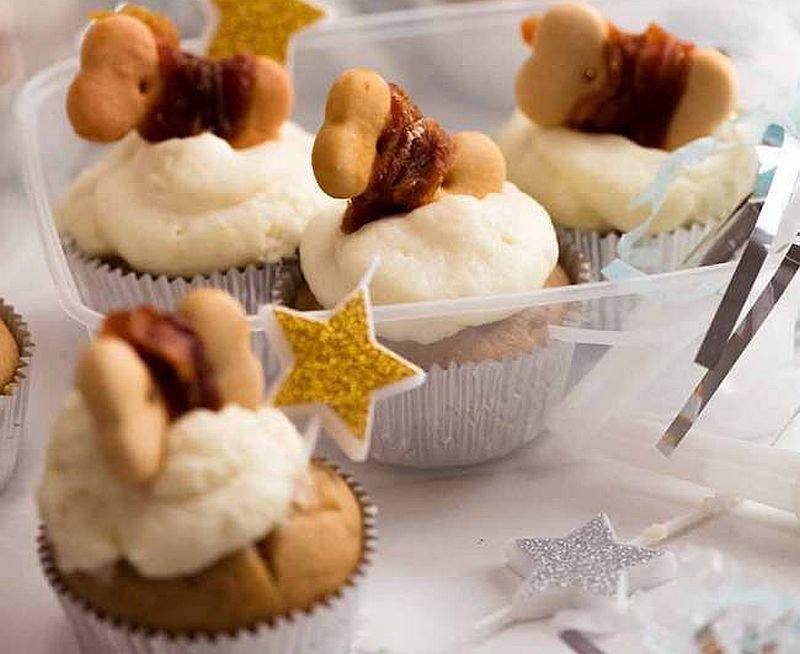 single serving dog cupcakes