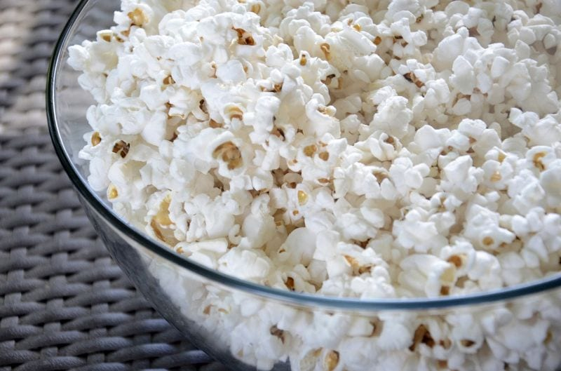 dogs love popcorn