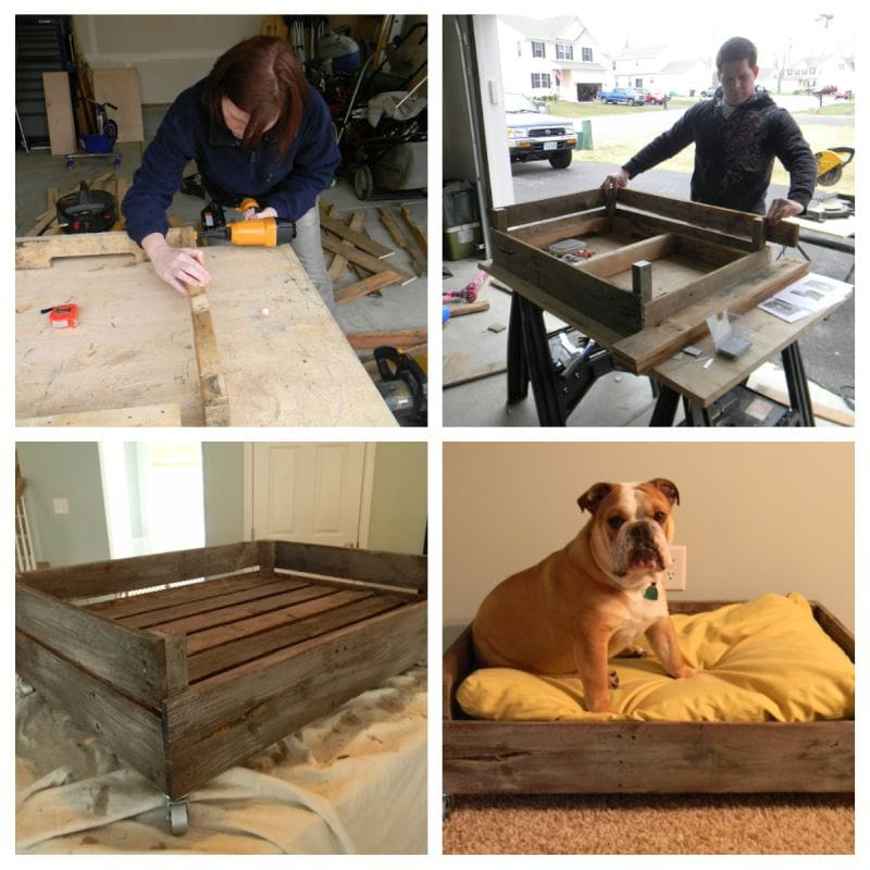Do-it-yourself pallet bed