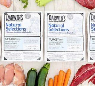 Natural Selections raw dog food