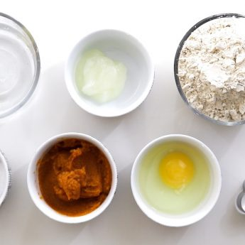 ingredients for pumpkin dog treats