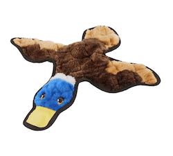 Frisco Flat Plush Squeaking Duck