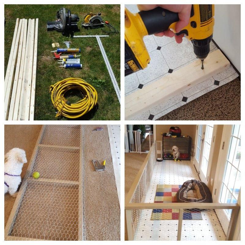 Instructables DIY Dog Pen Indoor