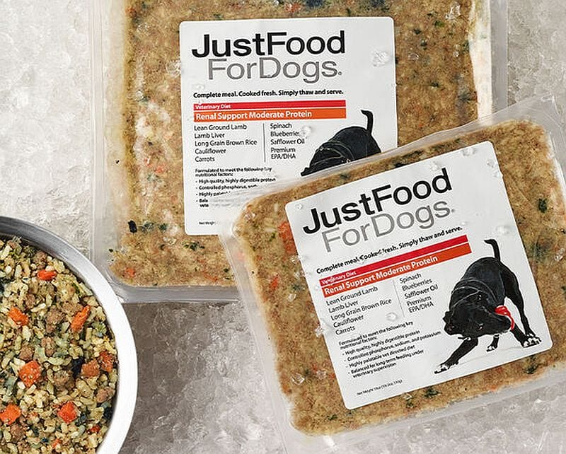 Just Food for Dogs Custom Food